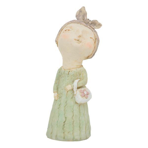 Frau Lady Criva mit Handtasche Dame Büste Rubens Deko-Skulptur Polyresin