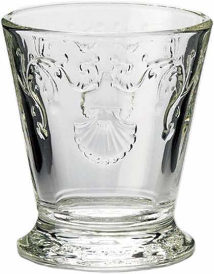 La Rochére Versailles Basisglas Wasserglas Softgetränk 25 cl, 6er-Set Landhaus