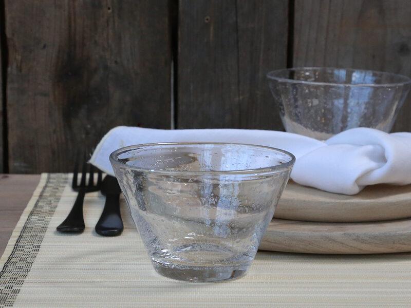 Chic Antique Ruy Glas Schale 4er- Set Dessertschale Müslischale 30cl -