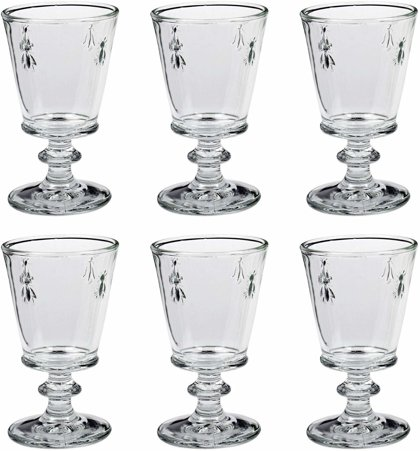 La Rochére Weinglas Abeille Biene 24 cl 6er-Set Landhaus